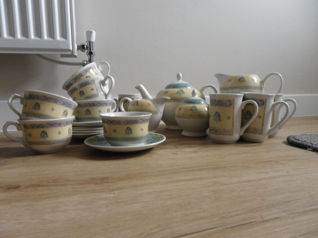 Tea Set - Ports of Call by Jeff Banks London (Barely used) & Tea Set - Ports of Call by Jeff Banks London (Barely used) | in ...