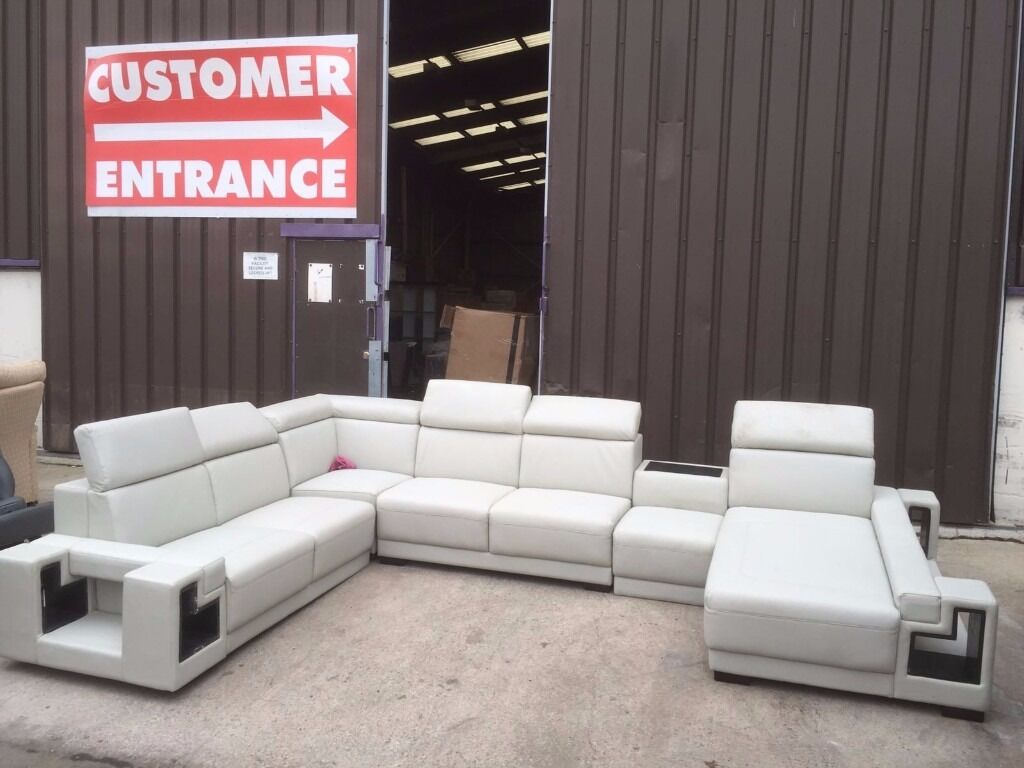 EX DISPLAY SOFAS   NEVER USED   WAREHOUSE STOCK   BRAND NEW   TO CLEAR   Part 60