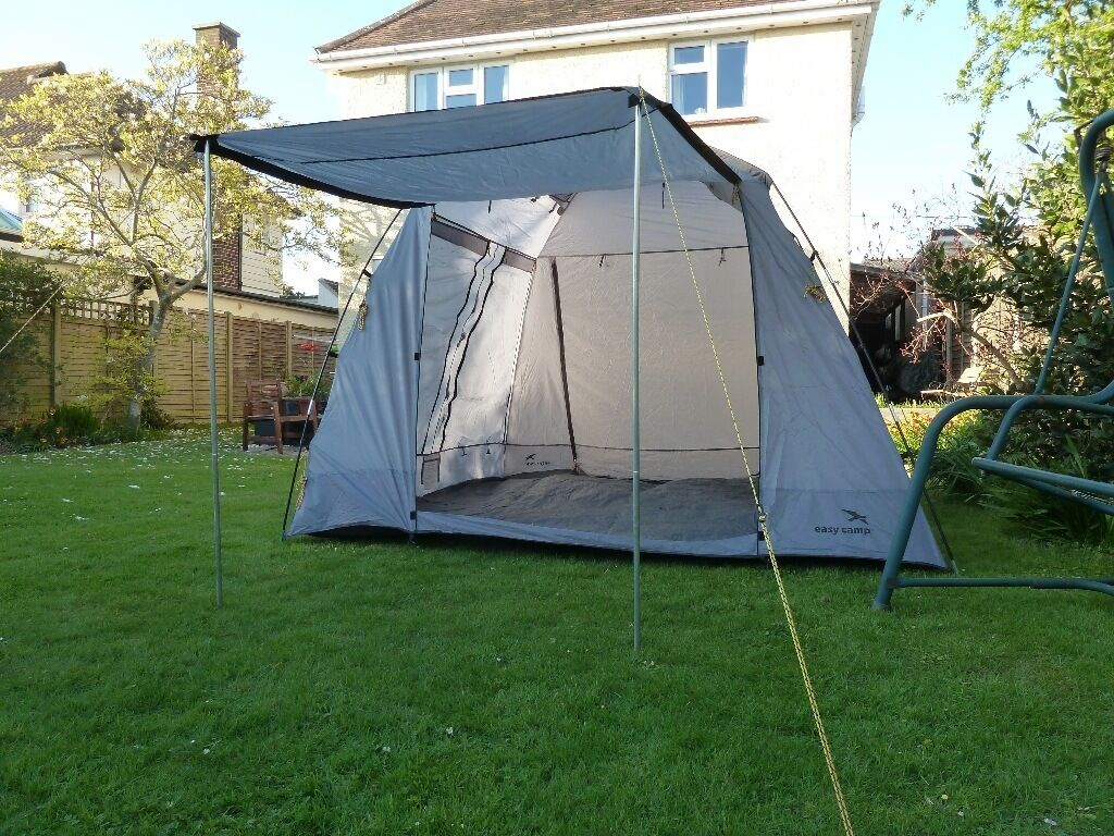 Easy c& Day Tent - simple tent for extra shelter and storage sewn in groundsheet & Easy camp Day Tent - simple tent for extra shelter and storage ...