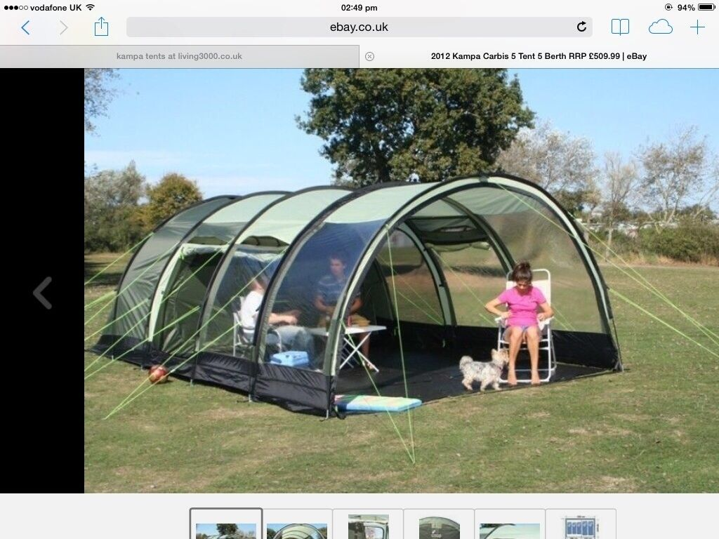 2012 K&a carbis tent 5 birth & 2012 Kampa carbis tent 5 birth | in Kingswood East Yorkshire ...