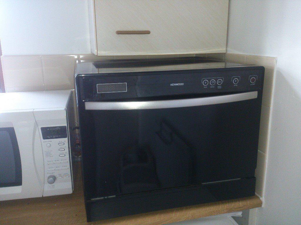 Black Kenwood Table Top Dishwasher