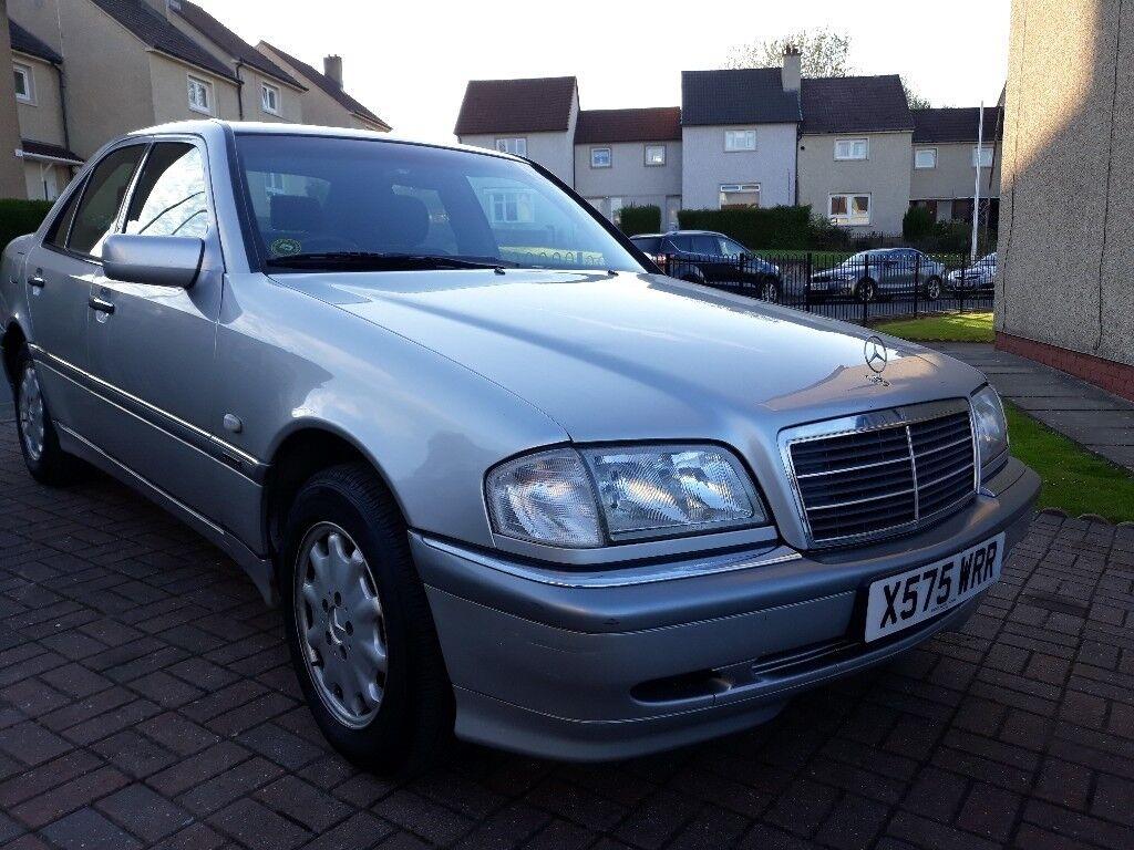 2000 Mercedes Benz C230 Kompressor W202 5spd Manual Saloon