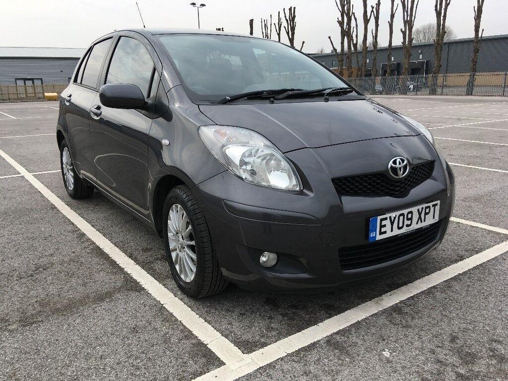 Toyota Yaris 1.3 VVT I TR 5dr 2009 6 Speed MOT Till 2019 Only £