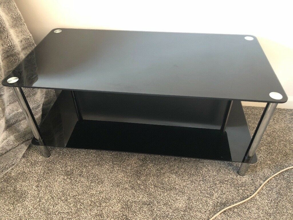Ordinaire Black Glass Furniture Set For Sale, Looking To Get Rid Of Fast. | In  Glasgow Green, Glasgow | Gumtree