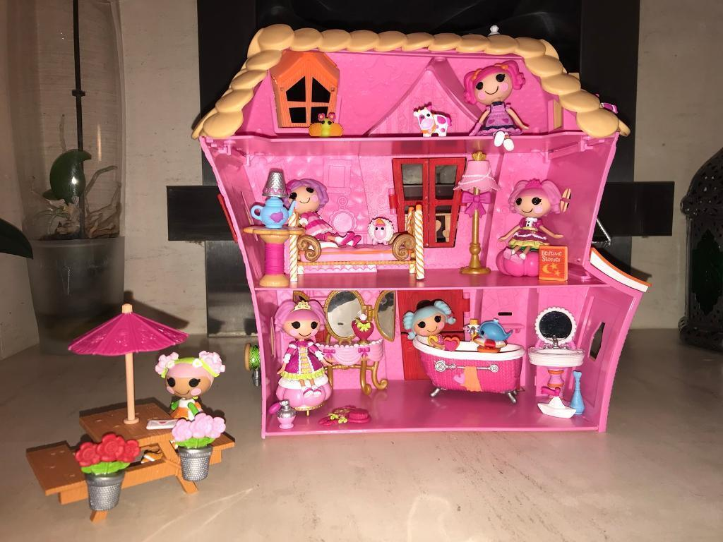 Lalaloopsy House With Dolls And Furniture Sets ONO