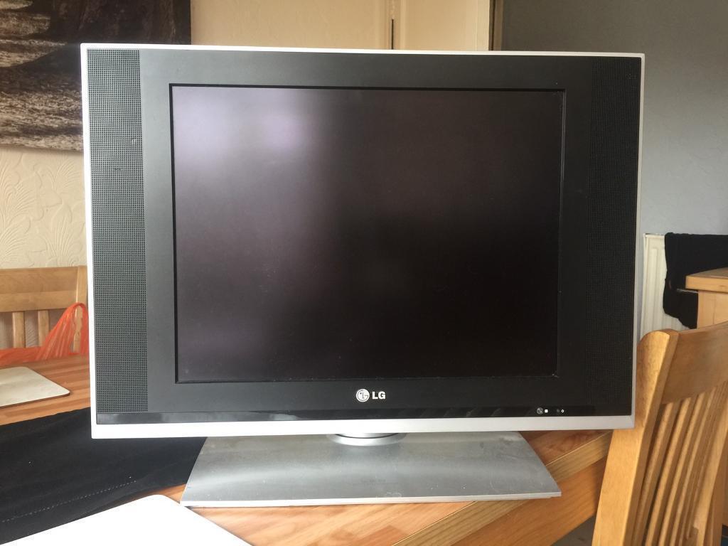 LG 20 Inch Flatscreen Tv