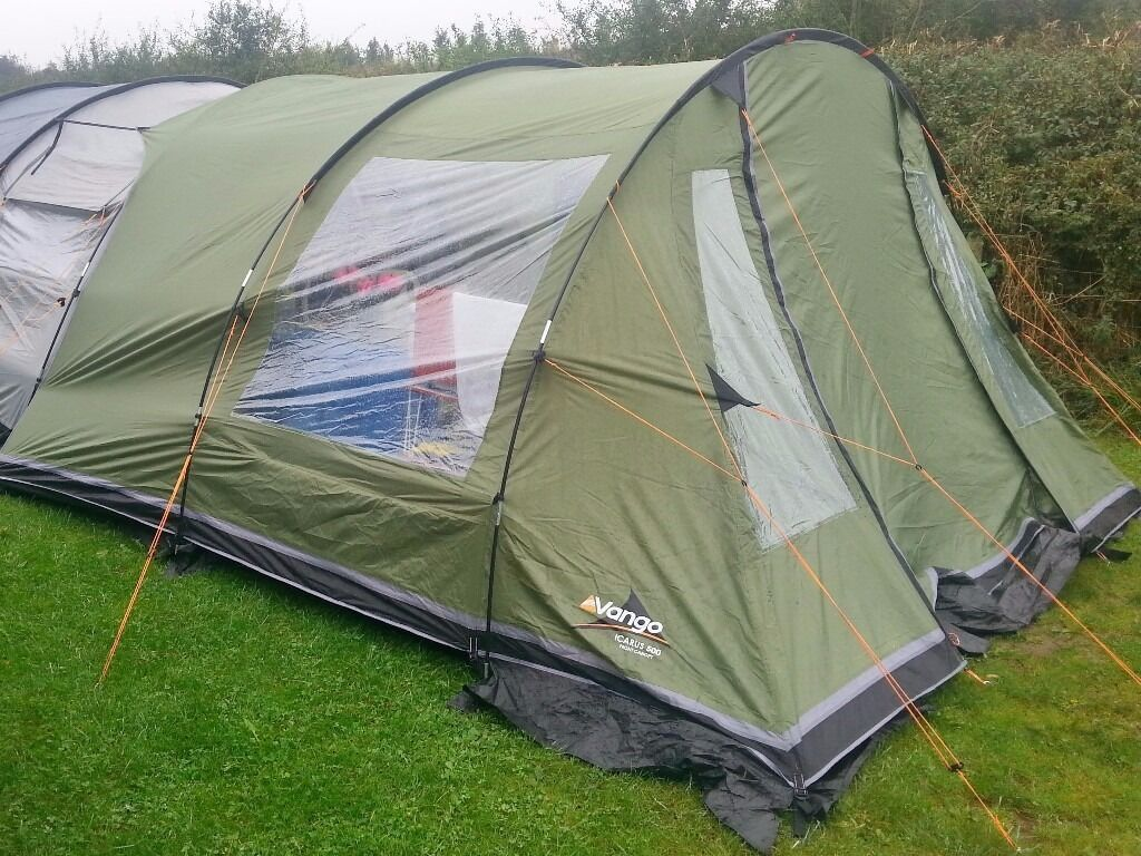 Vango Icarus 500 fully enclosed awning/canopy add on for icarus tent & Vango Icarus 500 fully enclosed awning/canopy add on for icarus ...