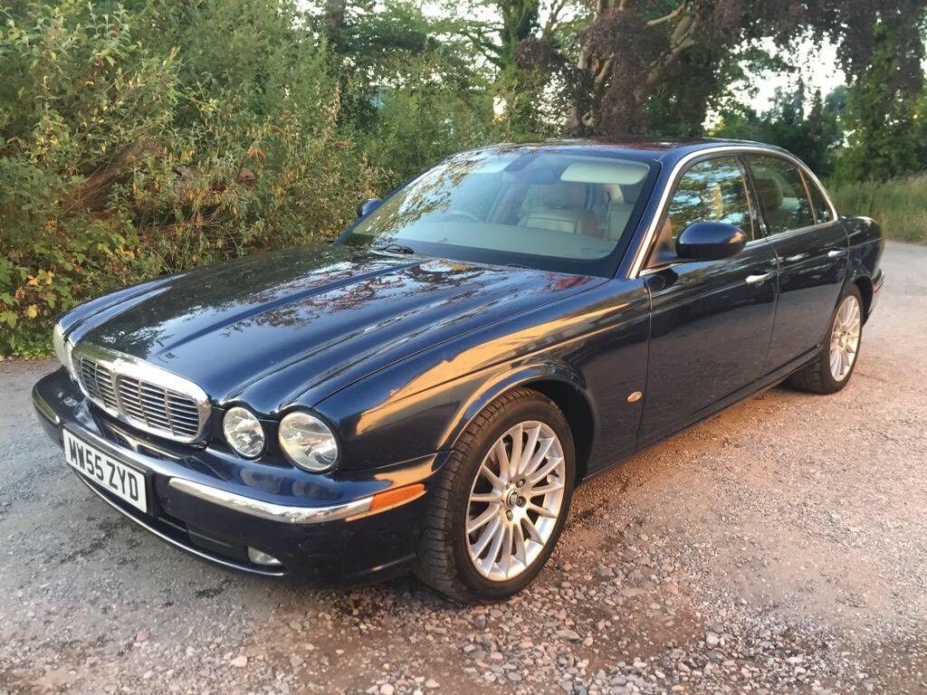 Marvelous 2005 Jaguar XJ 2.7 TDVI Executive Blue 120,000 Miles