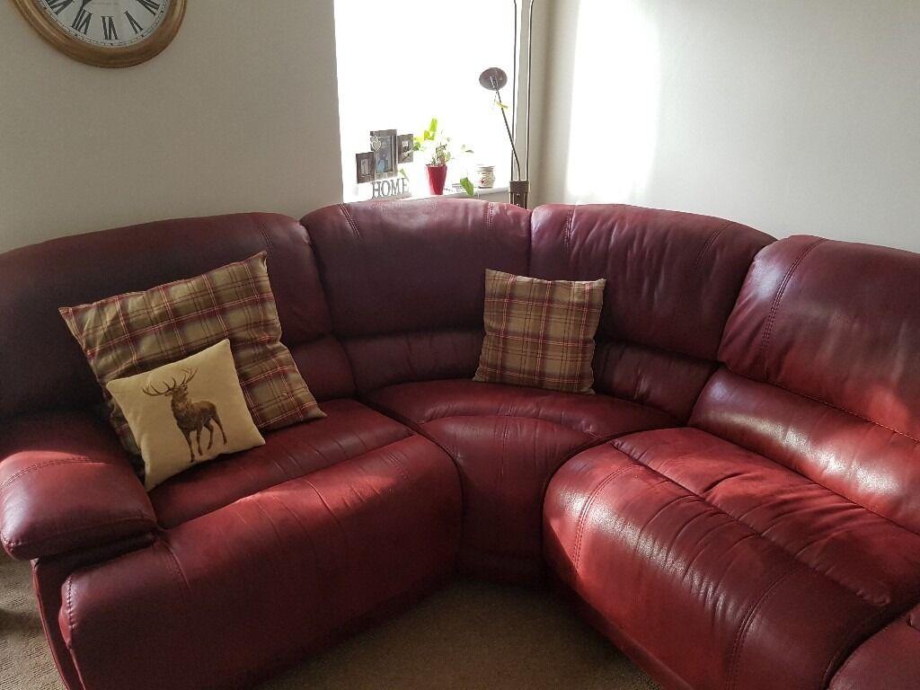 Harveys  Guvnor  reclining corner sofa with matching storage ... & Harveys