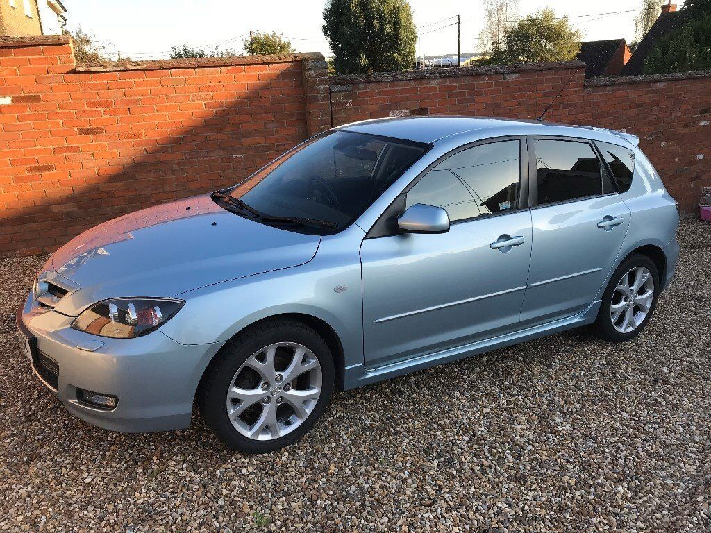 2008 Mazda 3 Hatchback 5 Door Manual Gearbox Petrol 1598cc