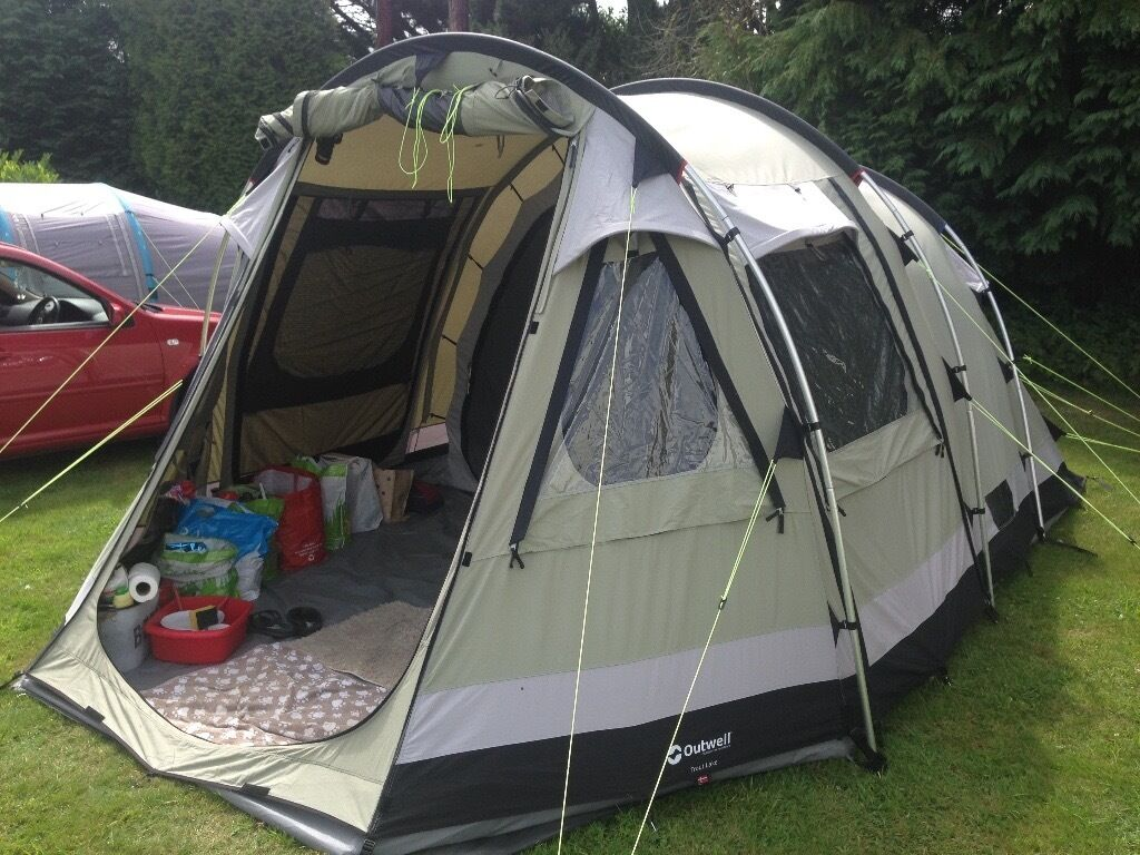 Outwell Trout Lake 4 berth Canvas Tent & Outwell Trout Lake 4 berth Canvas Tent | in Redruth Cornwall ...