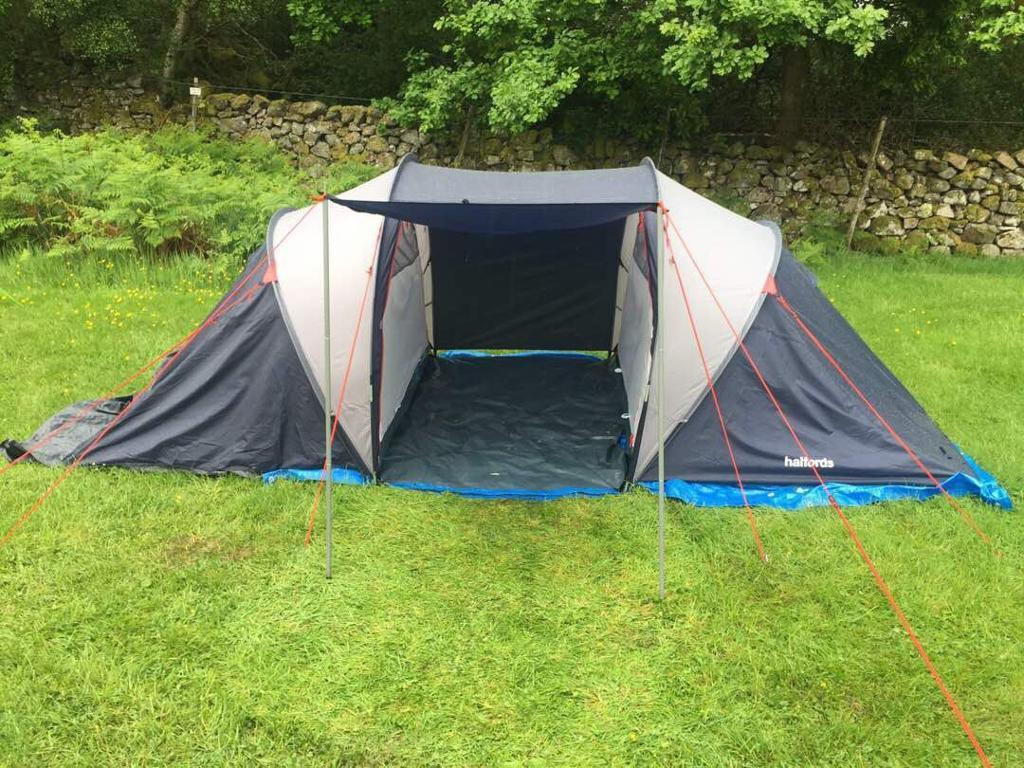 Halfords 4 Person Tunnel Tent & Halfords 4 Person Tunnel Tent | in Telford Shropshire | Gumtree