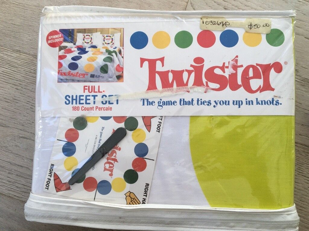 Brand New: Twister Bed Sheets