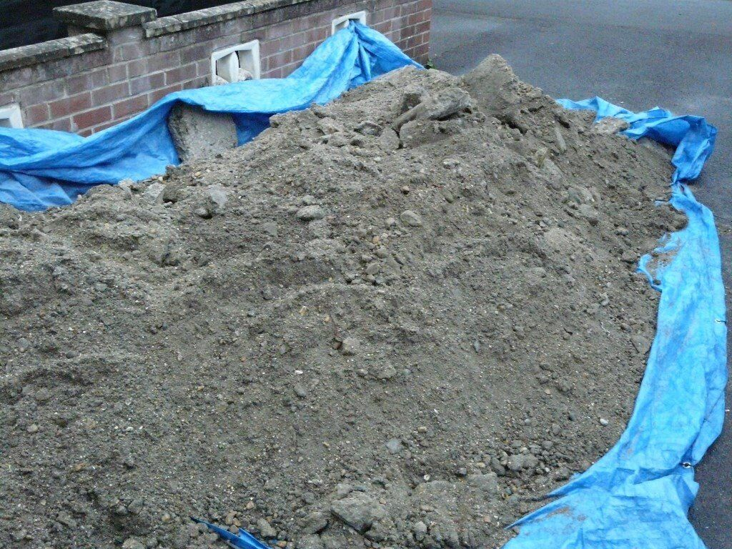 Patio / Driveway / Shed Base Material Stone, Cement , Sand Mix   Free To