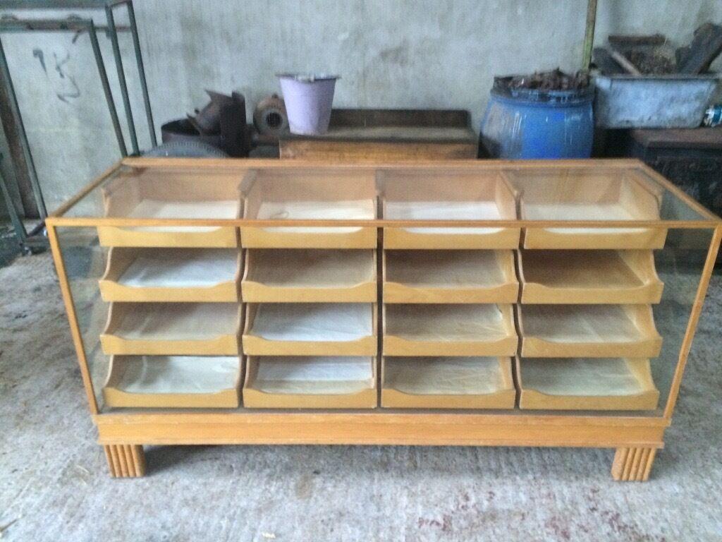 Vintage Haberdashery Cabinet Great Condition