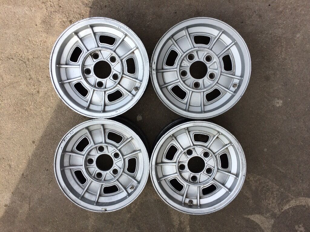 Vintage Rims Wheels BMW E3 E9 CS CSi E12 3.0cs 3.0csi 2800 FPS 5x120