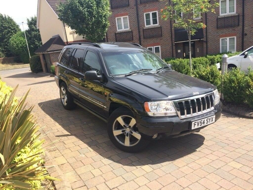 2005 JEEP GRAND CHEROKEE 4.7 V8 PLATINUM EDITION REALLY LOW MILEAGE 33K 1  OWNER   LPG