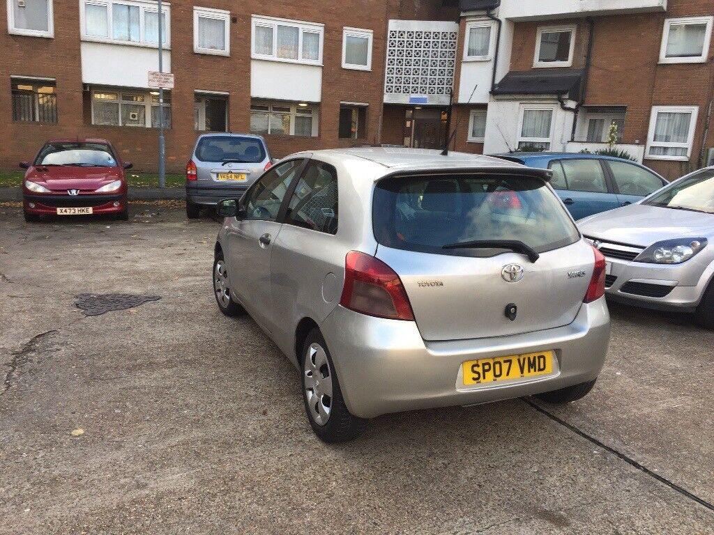 Toyota Yaris 1.0 Ltr, 2007, Low Mileage, 60 Mpg, Well Maintained Powerful