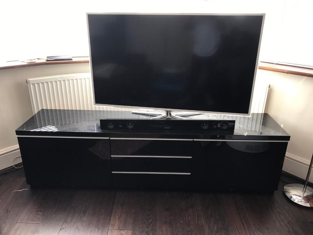 Ikea Black Tv Cabinet Home Design Ideas And Pictures # Meuble Tv Ikea Besta Burs Noir