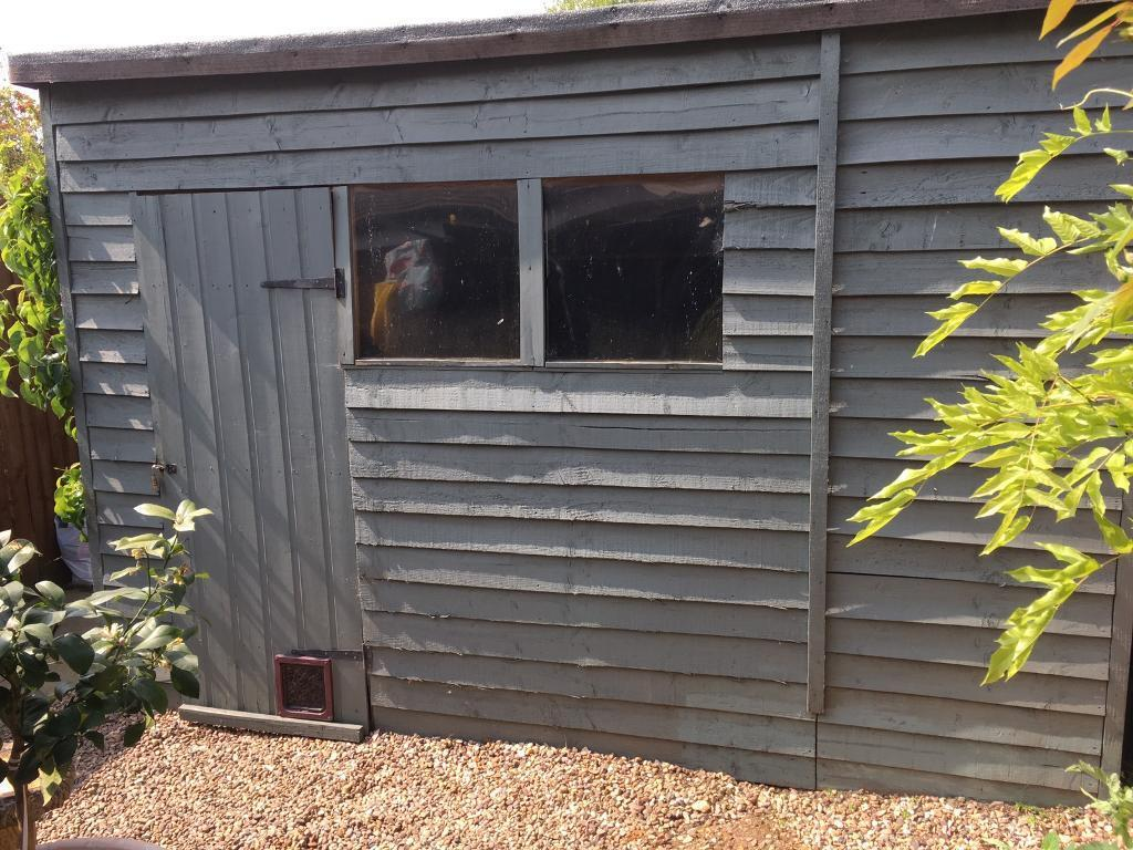 Garden Shed 10x6ft