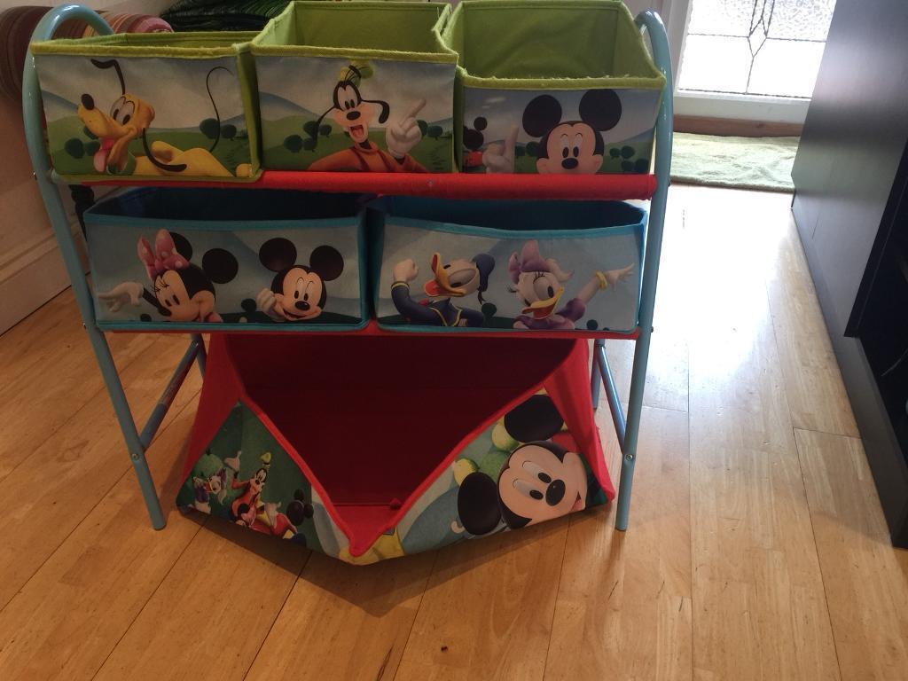 Mickey Mouse storage unit & Mickey Mouse storage unit | in Earley Berkshire | Gumtree