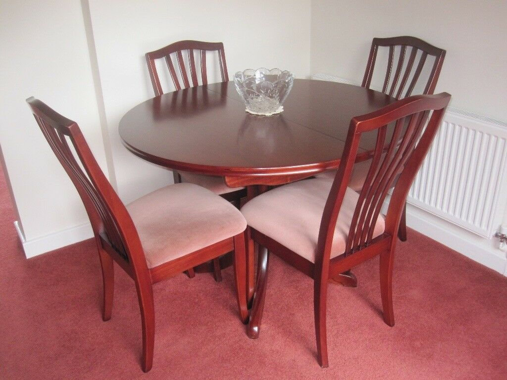 Mahogany Dining Room Table U0026 6 Chairs (Sutcliffe)