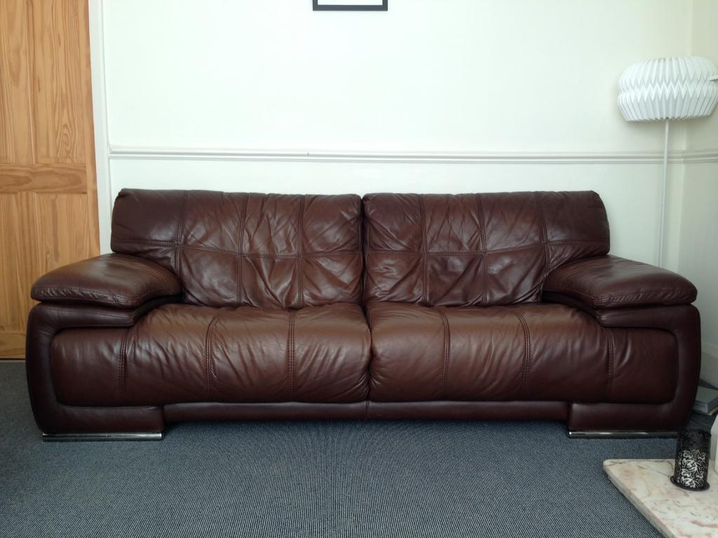 Charmant Violino Italian Leather Sofa U0026 Chair   High Quality!