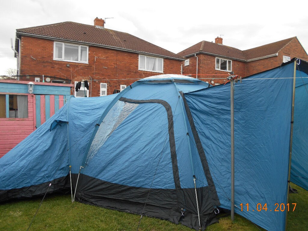 COLEMAN WYOMING VERY LARGE 6 MAN TENT & COLEMAN WYOMING VERY LARGE 6 MAN TENT | in Barnsley South ...