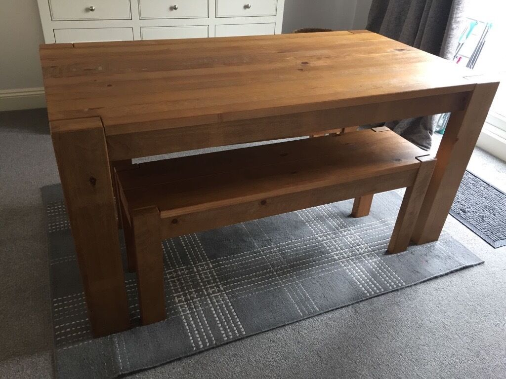 kendall bench set from next