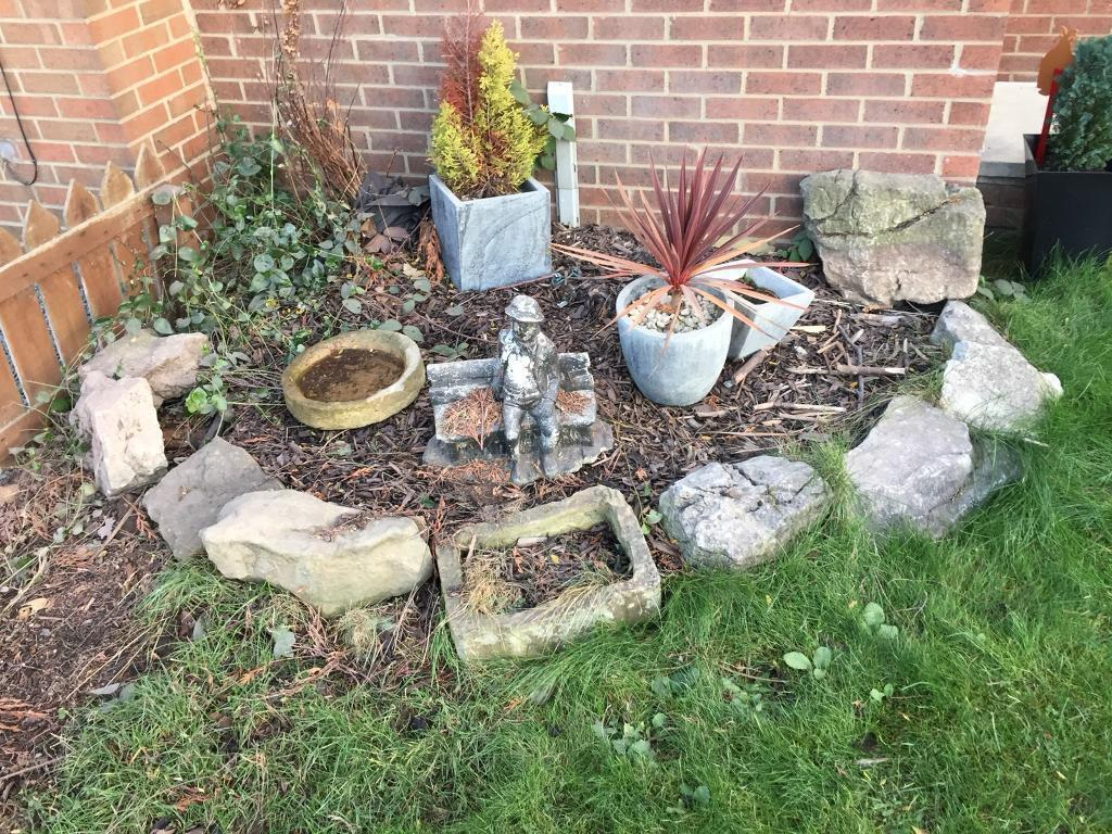 Garden Rocks Stones Rockery