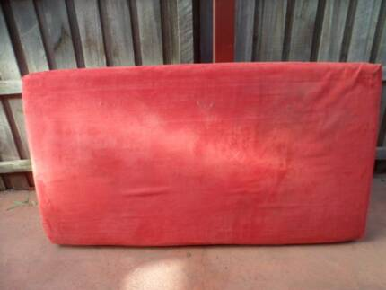 Red Single Sofa Bed
