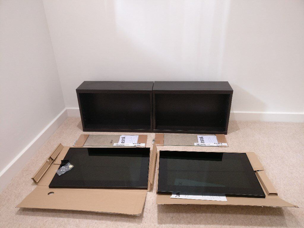 interesting ikea besta shelf units with glass door black with ikea besta suspension rail. Black Bedroom Furniture Sets. Home Design Ideas