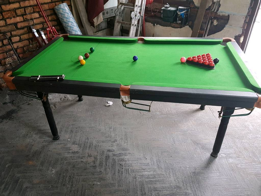 6 Foot Snooker Table