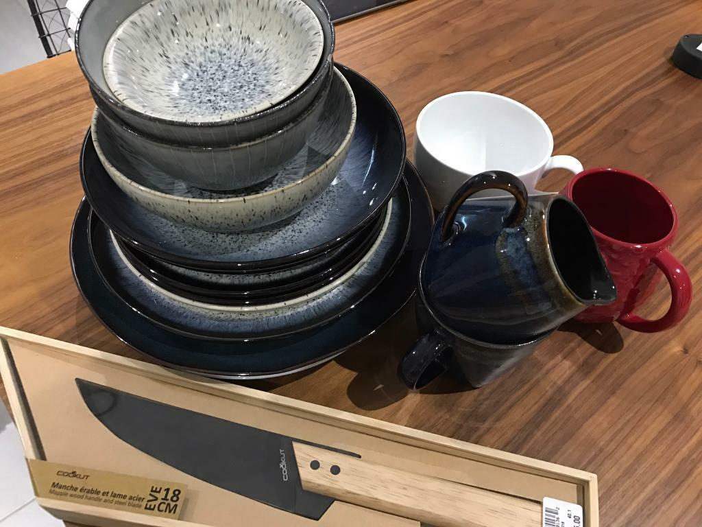 John Lewis denby halo dinnerware tableware plates bowls mugs & John Lewis denby halo dinnerware tableware plates bowls mugs | in ...