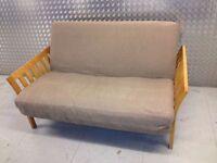 Futon Company Flare Double Sofa Bed U0026 Fieldmouse Cover Hardwood Base Sofabed