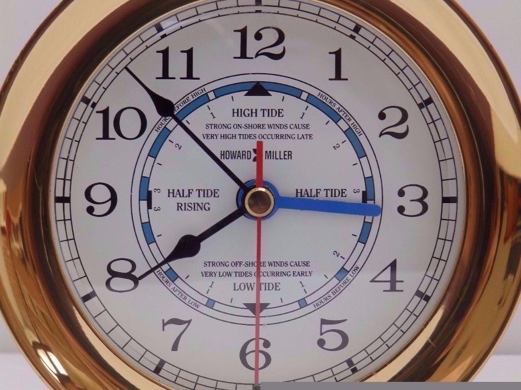 howard miller ships time and tide clock - Tide Clock
