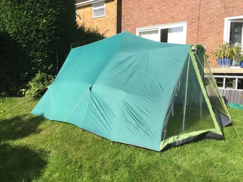 Lichfield Challenger 5 Ridge Tent (complete with printed instructions and all parts) & Lichfield Challenger 5 Ridge Tent (complete with printed ...
