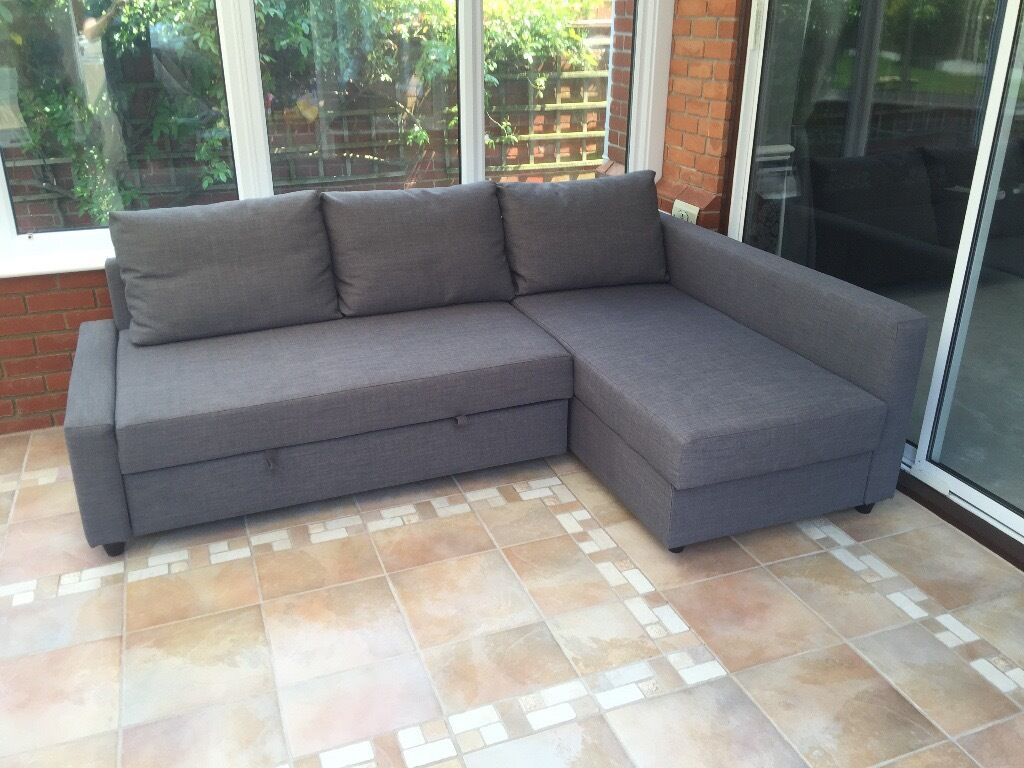 Corner Sofa Bed With Storage (Ikea   Friheten) NEW CONDITION