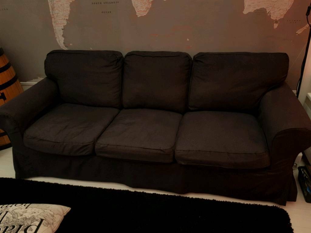 3 Seater Sofa Good Condition Removable Machine Washable Covers