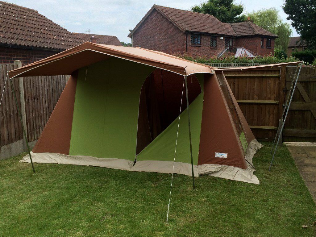 Marechal Marjory 4 Frame Tent with Sun Lounges & Marechal Marjory 4 Frame Tent with Sun Lounges | in Fetcham ...