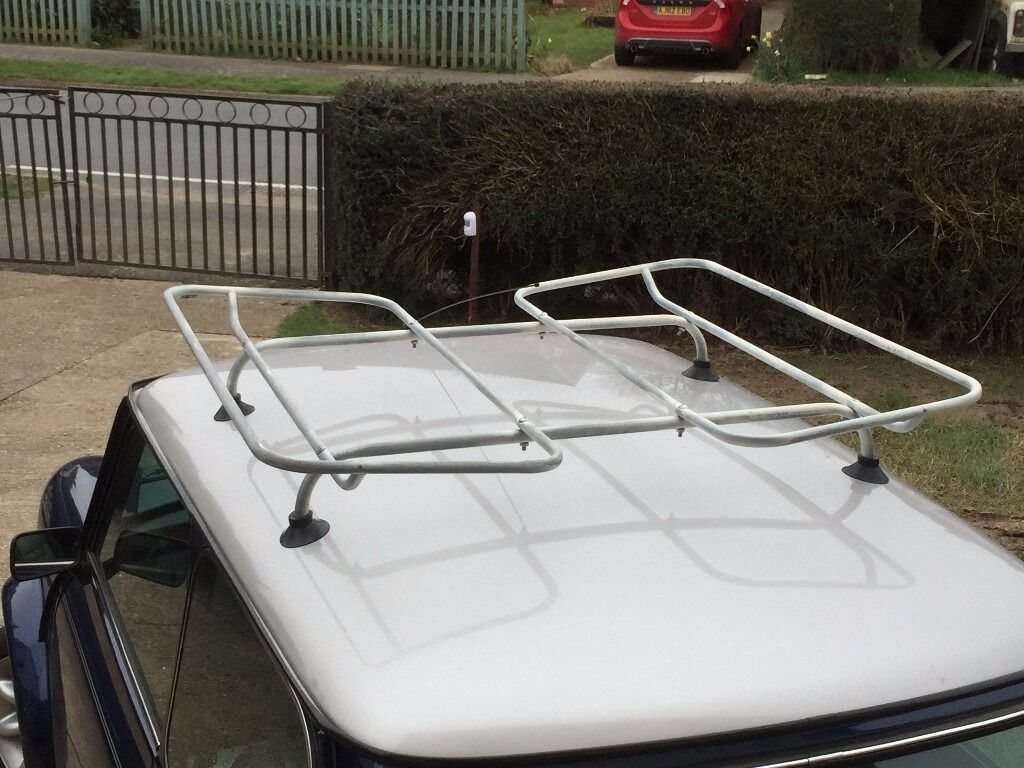 Original Retro 1950/60s Wingard Capri Roof Rack, Classic Mini, Car With  Gutters
