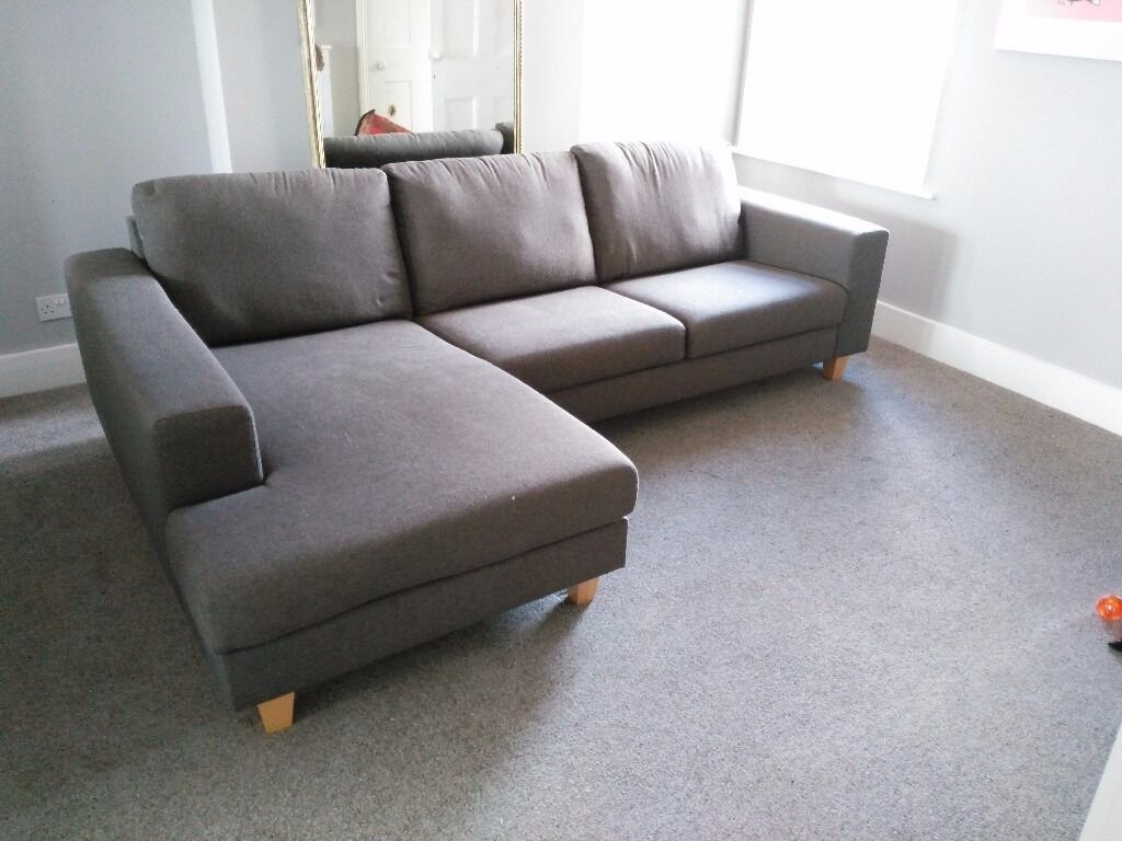 Charmant Ben De Lisi Debenhams Cornor Sofa (left Hand Facing)   Dark Grey