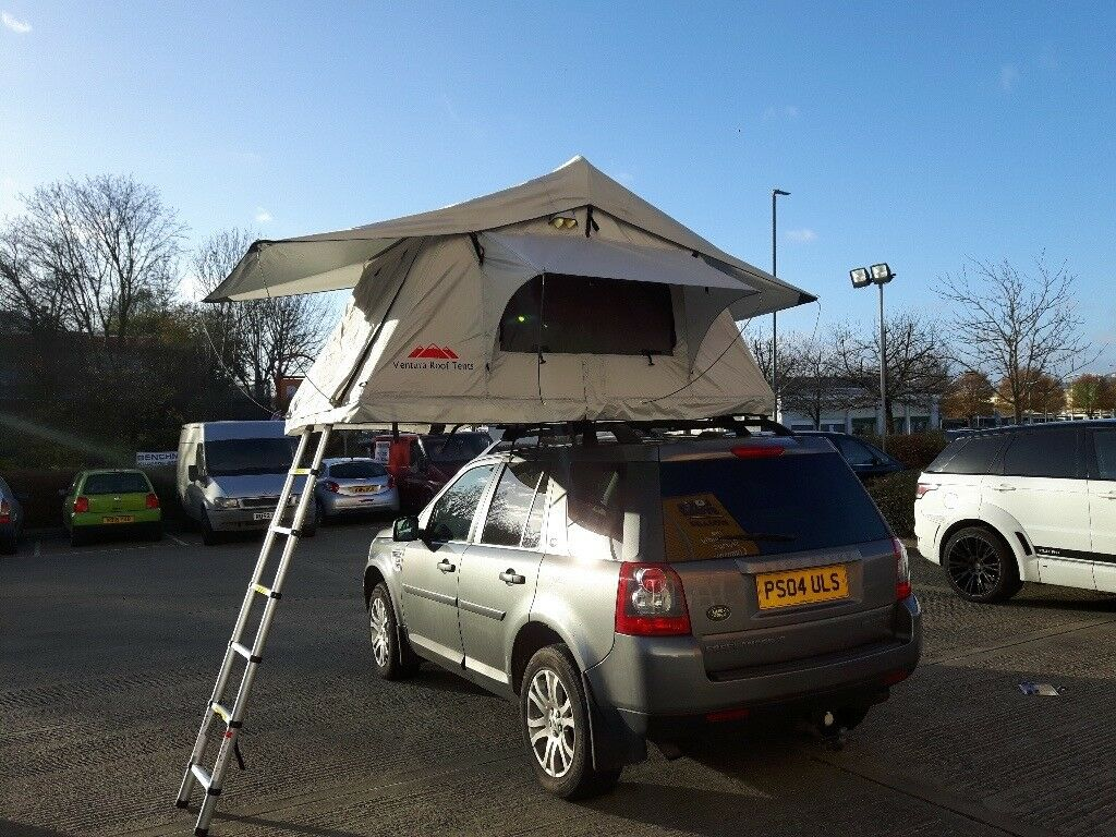 Ventura Deluxe 1.4 Roof Top Tent 3 Person C&ing Expedition Overland 4x4 VW Van Defender RRP : van top tent - memphite.com