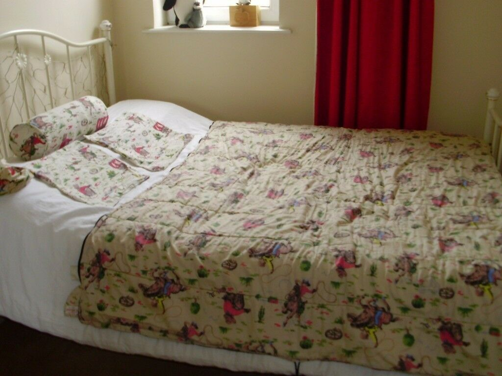 Cath Kidston Cowboy Bed Set Used For Sale