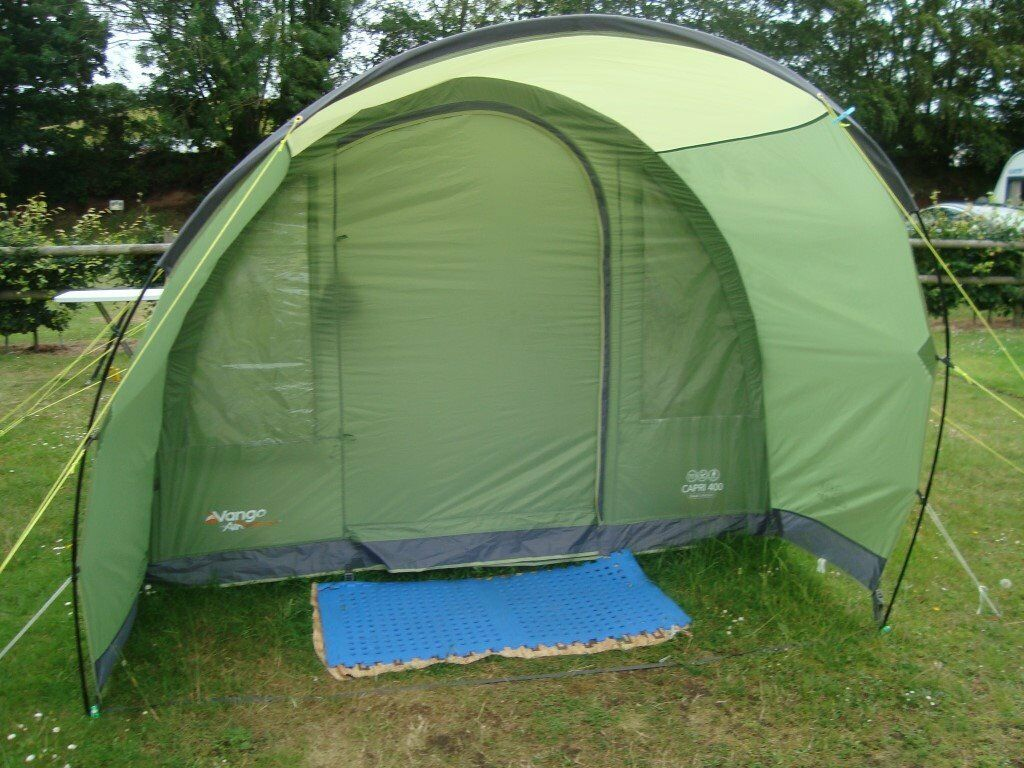 VANGO CAPRI 400 EXCEL COLLECTION INFLATABLE TENT BOUGHT 2017 EXCELLENT CONDITION WITH EXTRAS & VANGO CAPRI 400 EXCEL COLLECTION INFLATABLE TENT BOUGHT 2017 ...