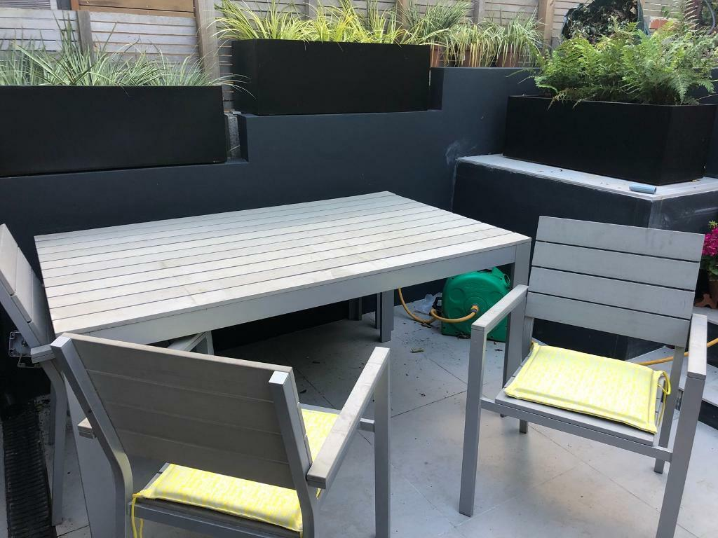 Ikea Falster Garden Table And 4 Chairs And Bench