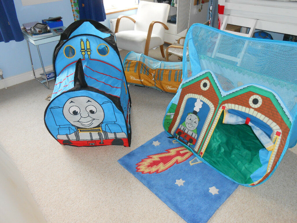 Pop-up Thomas the Tank Engine play tent set & Pop-up Thomas the Tank Engine play tent set | in Ipswich Suffolk ...
