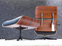 Vitra Eames Lounge Chair + Ott., XL,Palisander, Prem. Leder, Top!