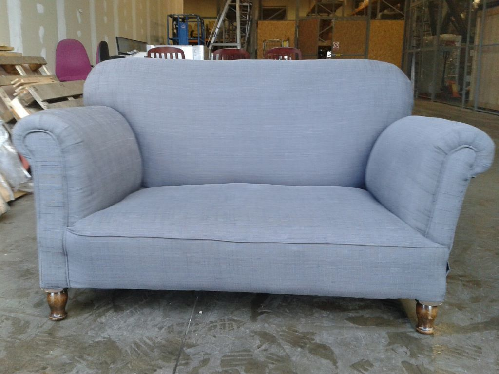 antique horse hair filled victorian drop end sofa setee couch delivery available - Setee
