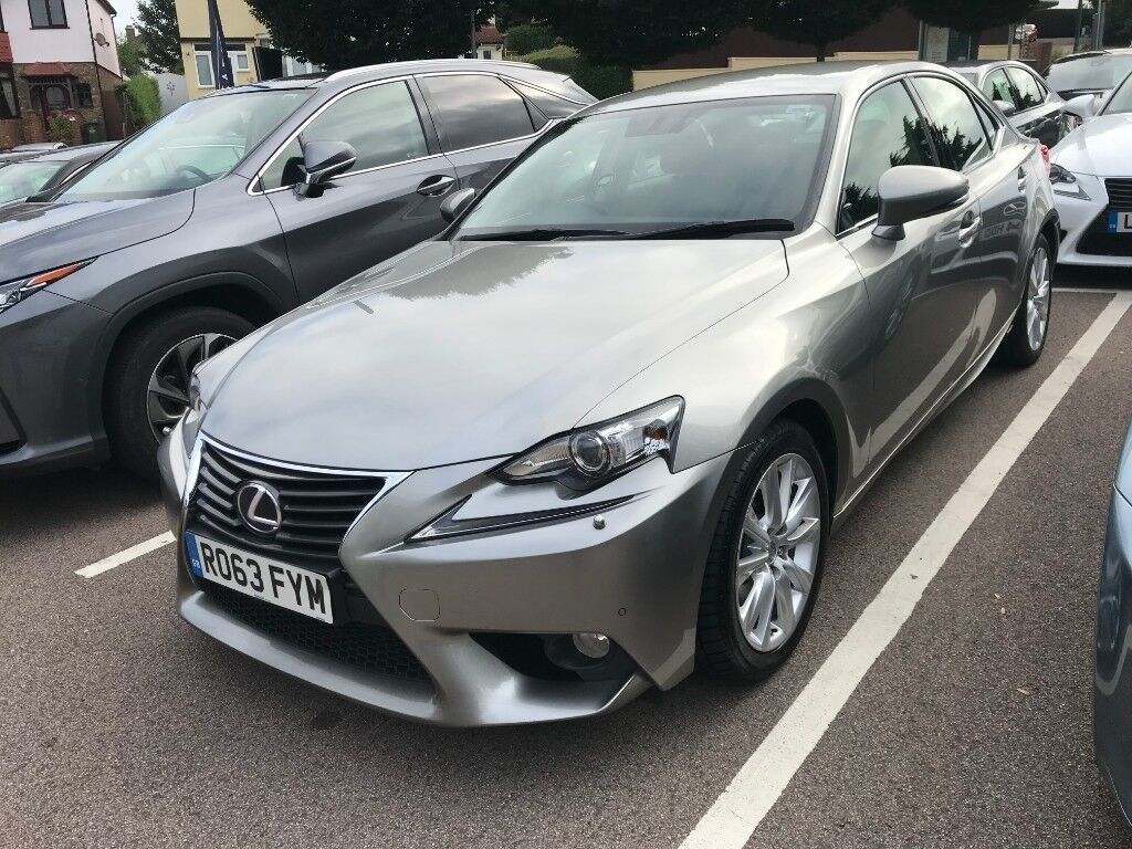 Lexus IS 300h 2.5 Luxury E CVT, Auto+Sports Pedal, Full Lexus Service  History, MOT EXP 23/09/2019